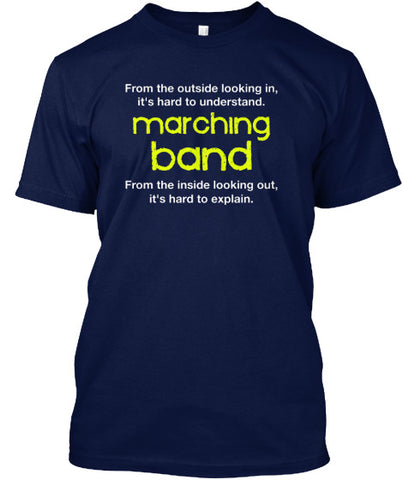 Marching Band - From the outside...looking in