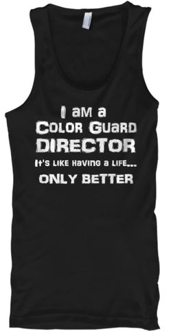 Color Guard Director - Guard Life - Tank Top
