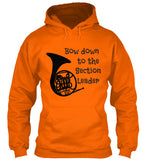 French Horn - Bow Down to Section Leader - Hoodie