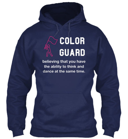 Guard - Believing You Can Think and Dance - Hoodie