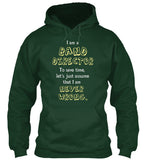 I am a Band Director - I am Never Wrong - Hoodie