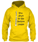 Clarinet - Bow Down to the Section Leader - Hoodie