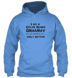 Color Guard Grammy Life - Black Lettering - Hoodie