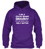 Color Guard Grammy Life - White Lettering - Hoodie
