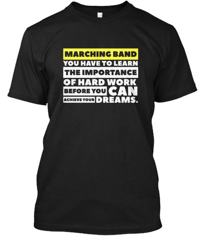 Marching Band - Importance of Hard Work