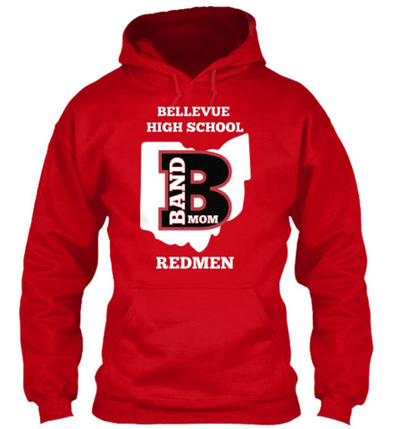 Bellevue High School Band Mom - Hoodie