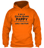 Color Guard Pappy - Black Lettering - Hoodie