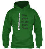 Clarinet - Bow Down to the 1st Chair - Hoodie