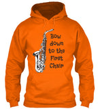 Sax - Bow Down to the 1st Chair - Hoodie