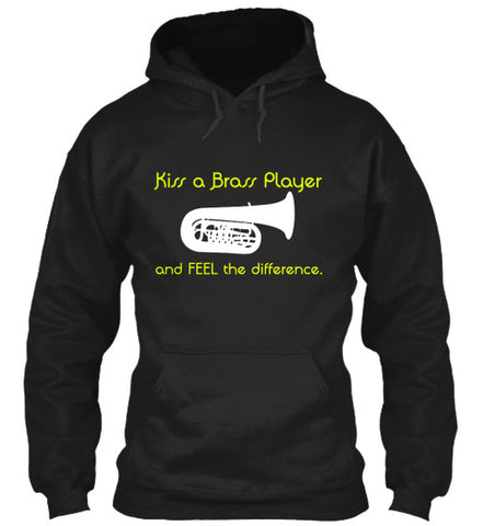 Tuba - Kiss a Brass Player - Hoodie