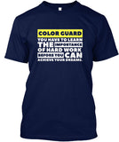 Color Guard - Importance of Hard Work