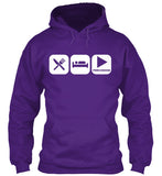Eat, Sleep and Play Percussion Hoodie!