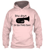Tuba - Bow Down to the 1st Chair - Hoodie