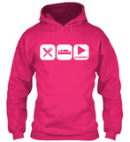 Eat, Sleep, and Play Clarinet Hoodie!