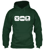 Eat, Sleep and Play Tuba Hoodie