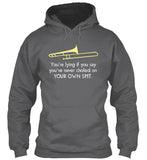 Trombone: Choking on your own spit - Hoodie
