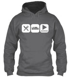 Eat, Sleep, and Play Bassoon Hoodie