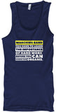 Marching Band - Importance of Hard Work - Tank Top