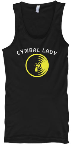 Cymbal Lady - Tank Top