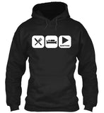 Eat, Sleep, and Play Baritone Hoodie!