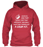 Happiness is a drum kit - Hoodie