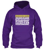 Marching Band - Importance of Hard Work - Hoodie