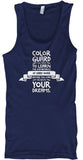 Color Guard - Importance of Hard Work - Tank Top
