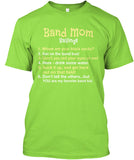 Band Mom Sayings