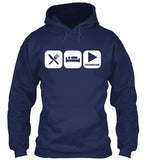 Eat, Sleep and Play Trombone Hoodie!