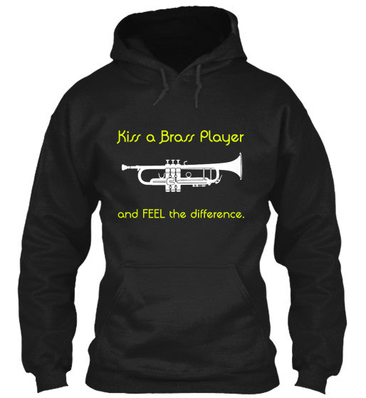 Trumpet - Kiss a Brass Player - Hoodie