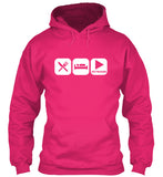 Eat, Sleep and Play Keyboard Hoodie!