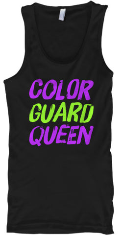 Color Guard Queen - Tank Top