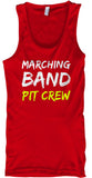 Marching Band PIT Crew - Tank Top
