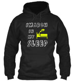 I March In My Sleep - Funny Band Hoodie!