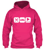 Eat, Sleep and Play French Horn Hoodie