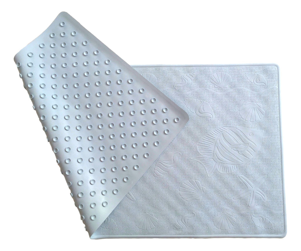 Extra-Large Antibacterial Rubber Bath Mat – Simple Lines Company ...