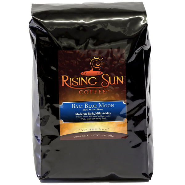 Bali Blue Moon, Roasted Coffee Beans, 2 Pounds