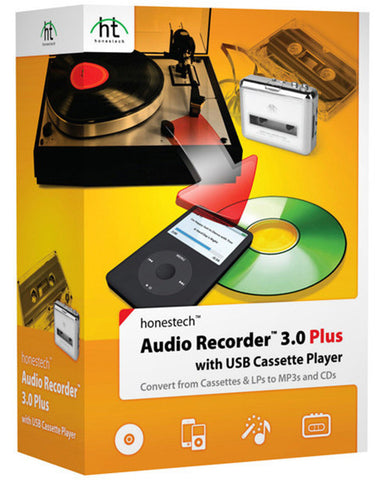 VIDBOX® Audio Recorder 3.0 Plus w/ Cassette Player - VIDBOX - 1