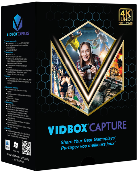 VIDBOX® GCK1 UVC Capture Device