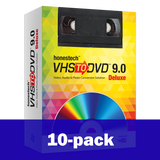 10-pack - VIDBOX® VHStoDVD™ 9.0 Deluxe (PC)