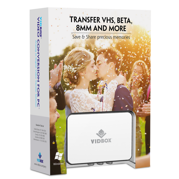 VIDBOX® Video Conversion for PC (Windows)