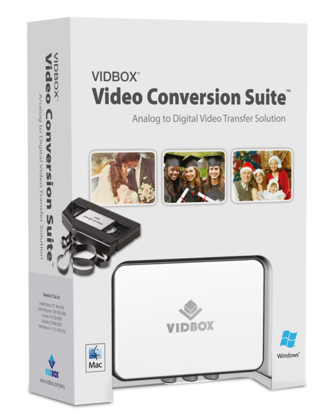 VIDBOX® Video Conversion Suite (PC&Mac) - VIDBOX - 1