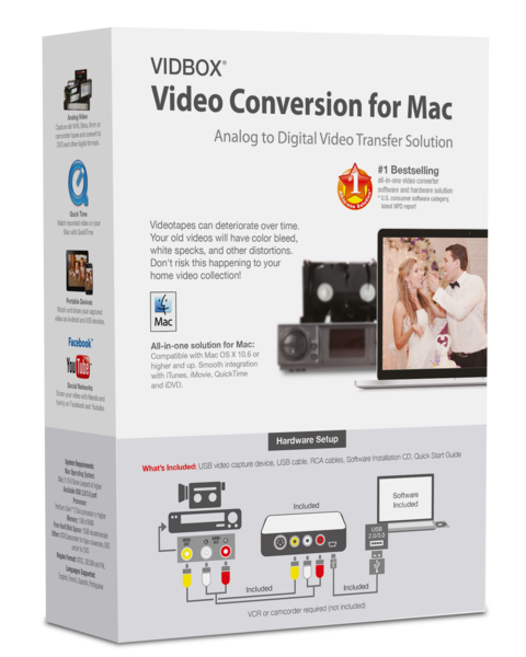 VIDBOX® Video Conversion for Mac - VIDBOX - 1