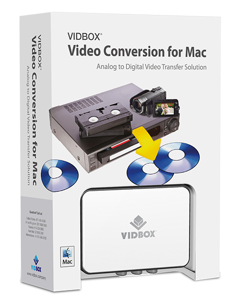 VIDBOX® Video Conversion for Mac (macOS Catalina compatible)