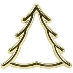 Gold Christmas Tree Frame