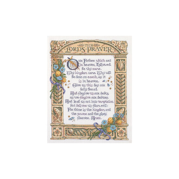Bucilla The Lord's Prayer Cross Stitch Kit