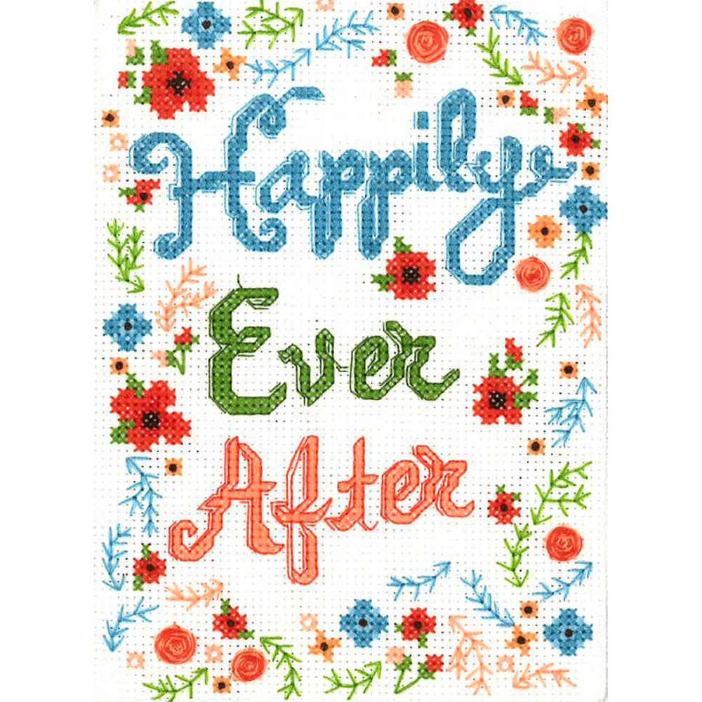 Happily Ever After Cross Stitch Kit