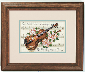 Music is Harmony Cross Stitch Kit