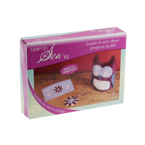 Learn to Sew Craft Box