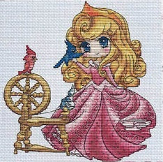 """Aurore"" Cross Stitch Chart"